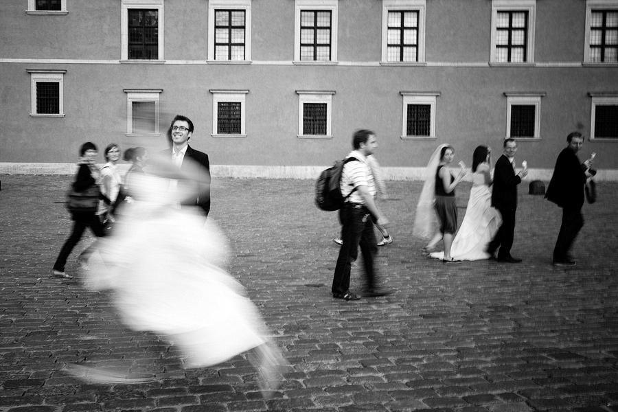 Dorota i Marcin, plener miejski