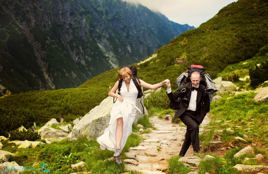 tatry, dolina pięciu stawów, sesja ślubna w tatrach